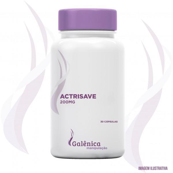 Actrisave - Estímulo de crescimento, redução de queda e aumento de volume capilar 30 cápsulas