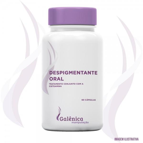 Despigmentante oral - tratamento conjunto com a cisteamina. - 60 cápsulas