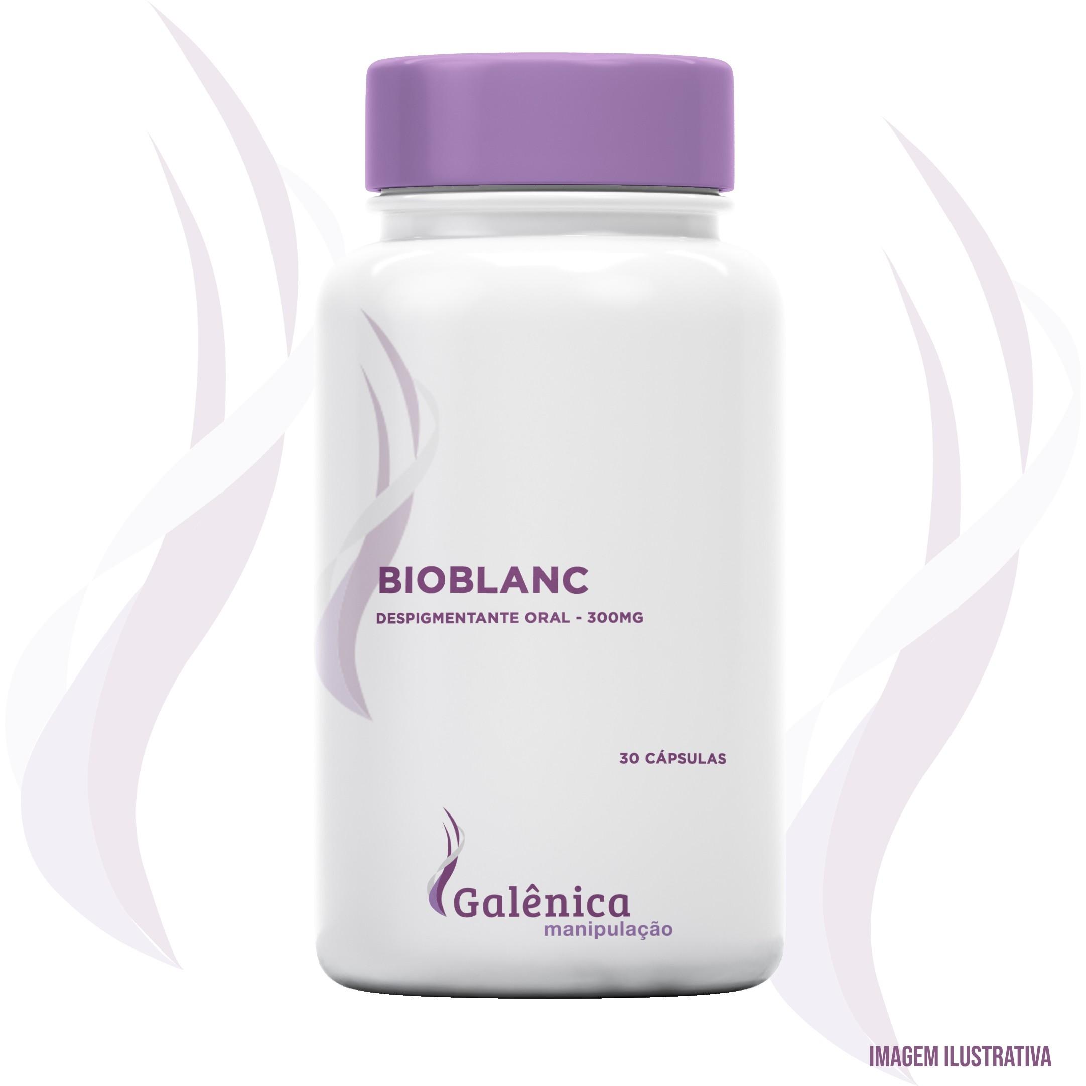 BioBlanc - Despigmentante oral - 300mg - 30 cápsulas