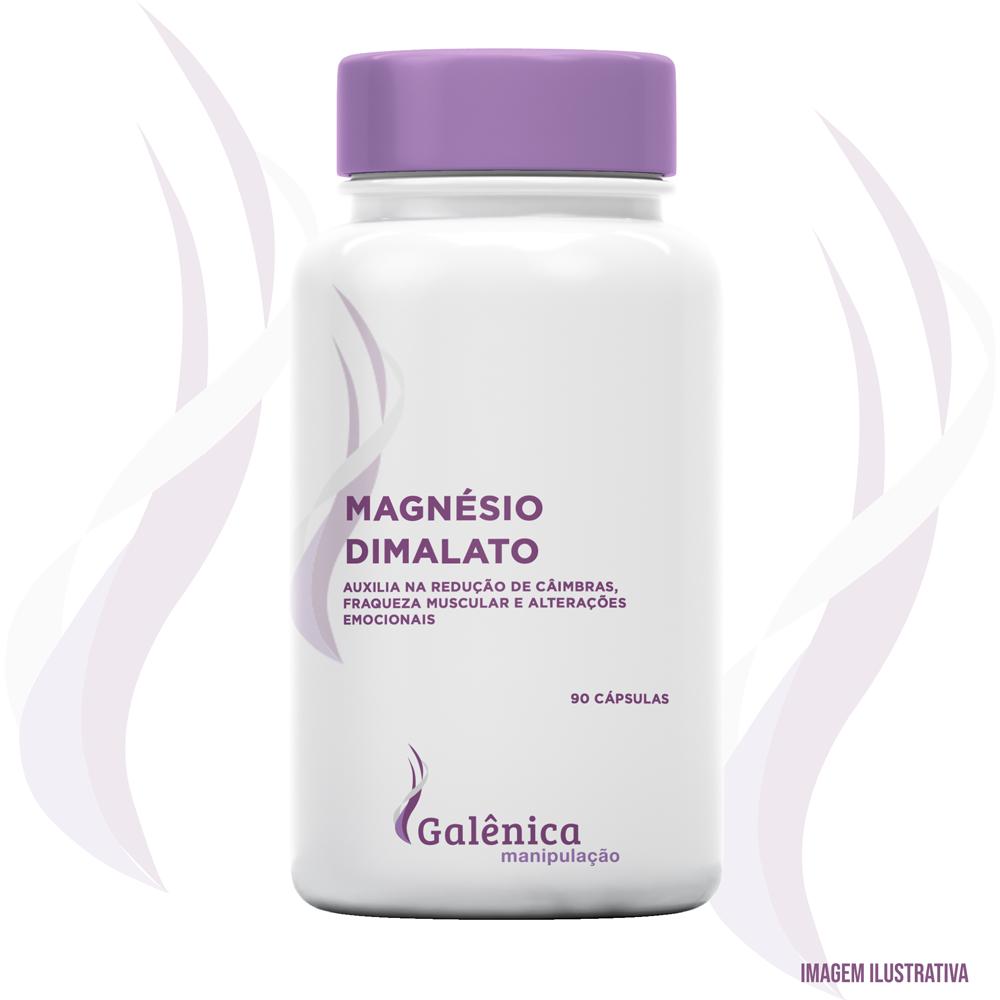 Magnésio Dimalato - Auxilia na redução de câimbras, fraqueza muscular e alterações emocionais